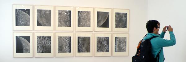 090423 Exkursion WechselausstellungVilla Oppenheim Berlin LICHTSTOFF Sammlung Paviot Paris ###